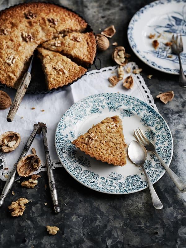 Le stupéfiant gâteau aux noix et miel