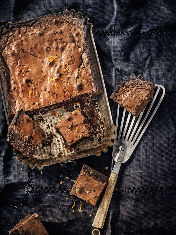 Brownie au zeste d'orange 1