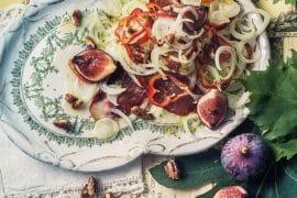 salade de châtaignes à l'andouille 2