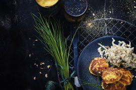 Polenta croustillante au fribourg<br>et chou-rave à l'orange 2