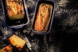 Pain de maïs aux carottes confites à l'orange