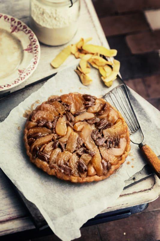 Tarte Tatin aux noix de pécan 1