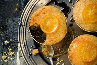 Petits puddings au citron bergamote