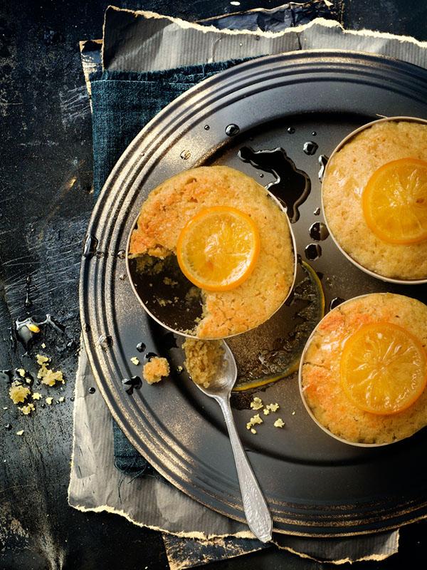Petits puddings au citron bergamote 1