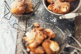 beignets de brousse au limoncello