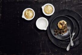 Crème renversée et coulis de muscat 1