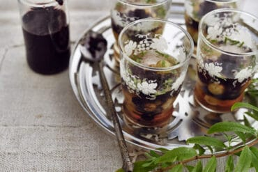 Mûres et raisins au muscat et verveine