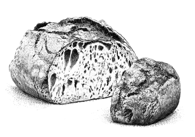 Le pain (presque) au levain, pas tout à fait, mais pas mal quand même