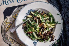 Salade de légumes secs et crus