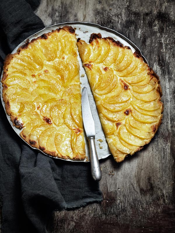 La pomme : en tarte, caramélisée et crue