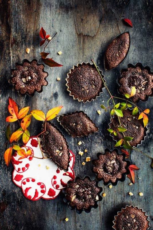 Coulants au chocolat et au gingembre 1