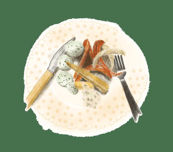 Boulettes de poisson vapeur