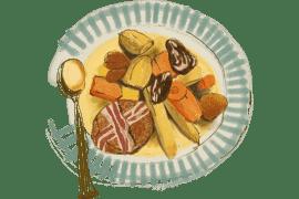 Filet mignon aux châtaignes et fruits secs 2