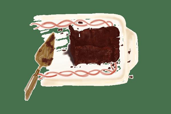 Pavé au chocolat 1