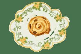 Roulottis feuilletés aux fruits séchés 3