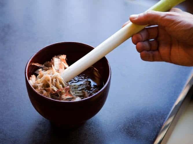 Negi soba, les nouilles à manger avec un poireau - © 180°C Photographie Camille Oger