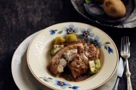 Ris de veau aux kiwis et chartreuse 2
