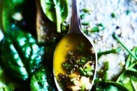 Recette de la vinaigrette non émulsionnée sans moutarde (ou si peu…)