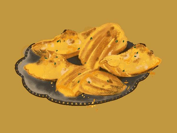 Bouchées au thon comme des madeleines 1