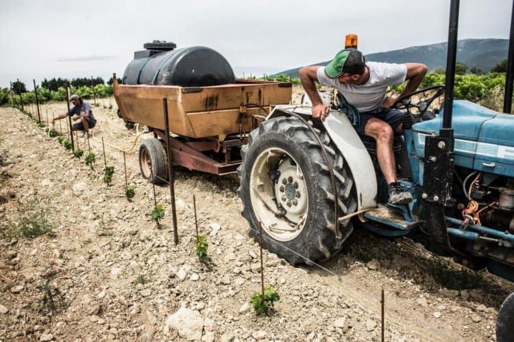 Arrosage du plantier - © 180°C Photographie Jean-Luc Luyssen