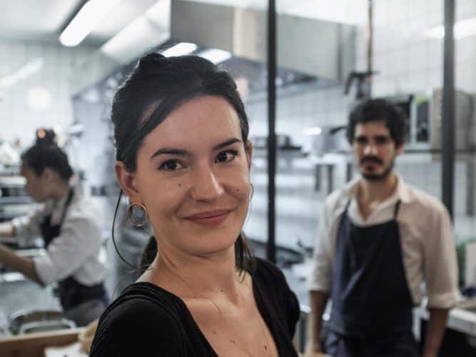 Chez Ouréa, c'est Camille qui  signe la carte des vins - © 180°C - Photographie Eric Fénot