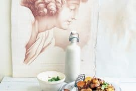 Poulet grillé et patate douce à la harissa 4