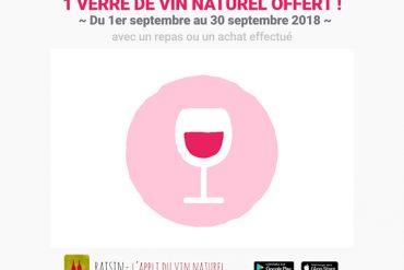 Un verre de vin naturel offert ! 21