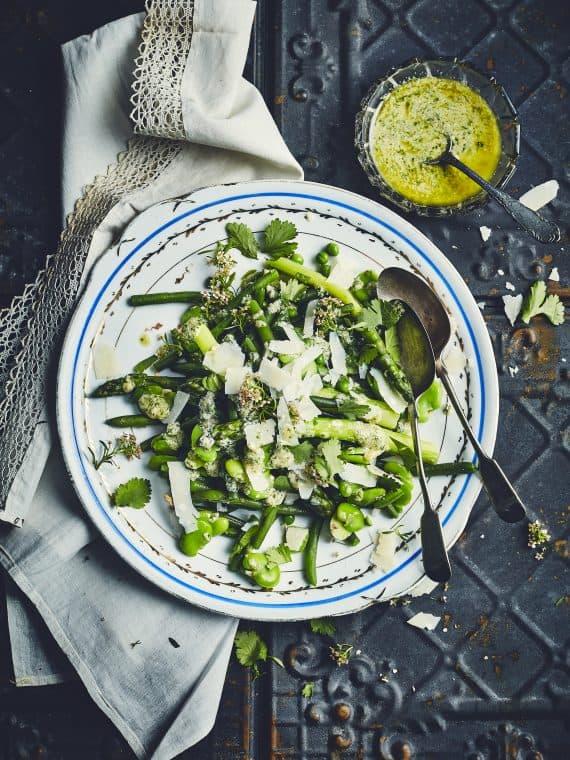 Salade complètement verte 19