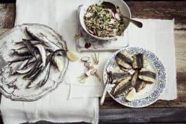 Sardines à la chermoula & taboulé de printemps 3