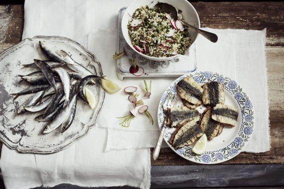 Sardines à la chermoula & taboulé de printemps 1