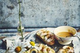 Tartines de langoustines au beurre de citron vert 3