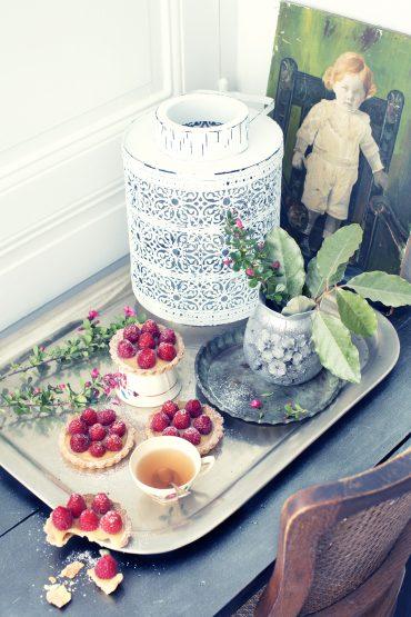 Tartelettes framboises, amandes et citron vert 10