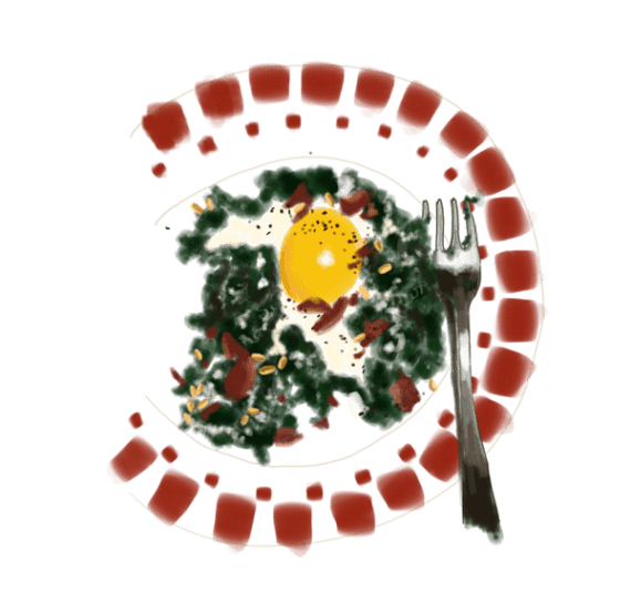 Épinards à la crème et aux œufs 13