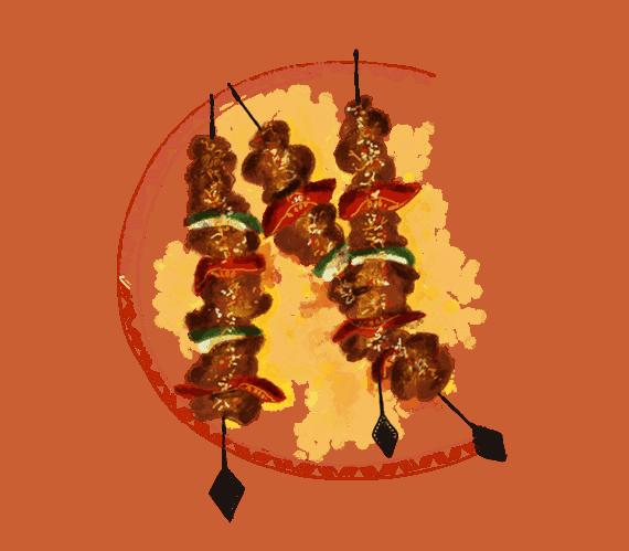Brochettes de bœuf mariné 15