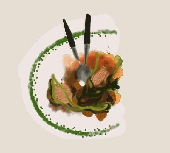 Porc rôti au genièvre et aux figues séchées 15