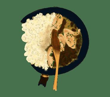 Poulet aux morilles 13