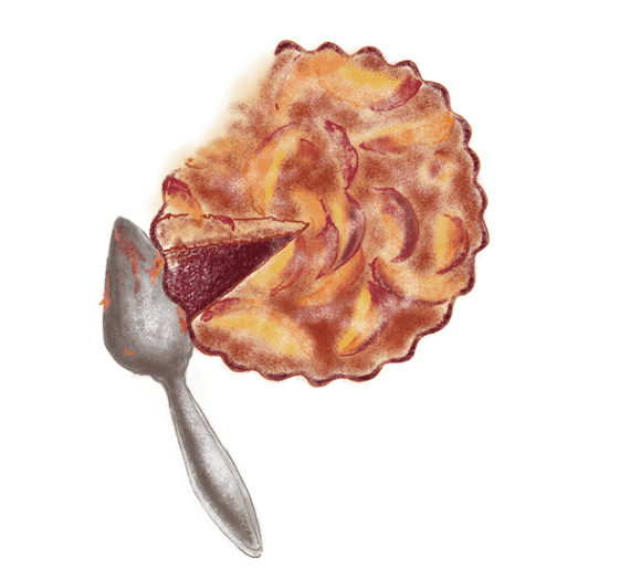 Pudding aux pêches 8