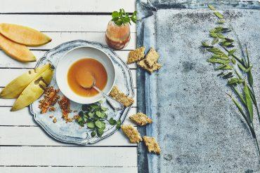 Soupe de melon & biscuits amandes-anis 10