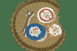 Semoule de chou-fleur en taboulé