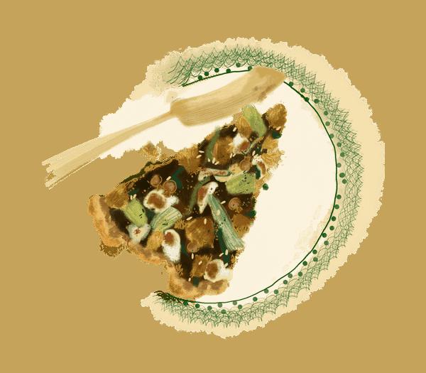 Tarte au thon et cœurs d'artichaut 1