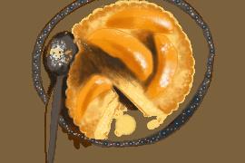 Tartounettes au sucre et abricots poêlés