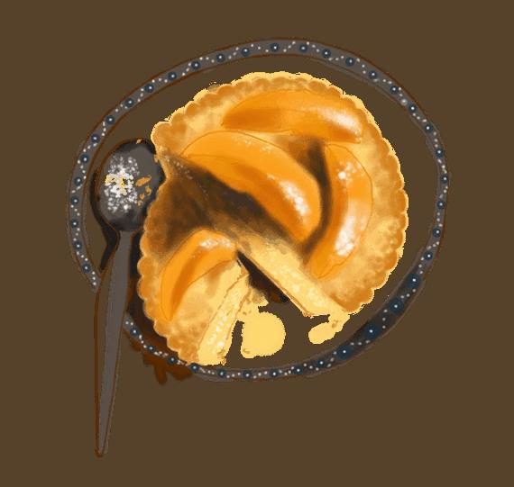 Tartounettes au sucre et abricots poêlés 8