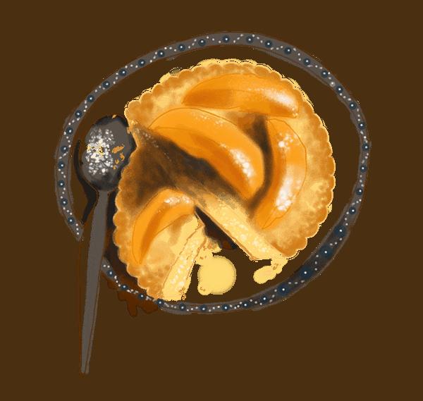 Tartounettes au sucre et abricots poêlés 1