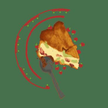Tendresse aux fraises et à la rhubarbe 18