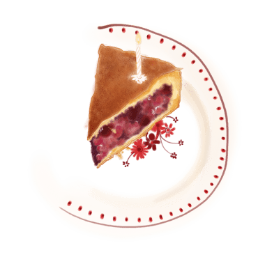 Tourte sablée aux fruits rouges 13