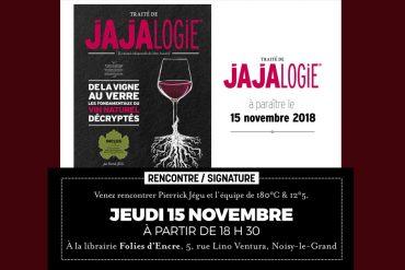 Lancement du Traité de Jajalogie : <br/>rencontre, signature, dégustation... 15
