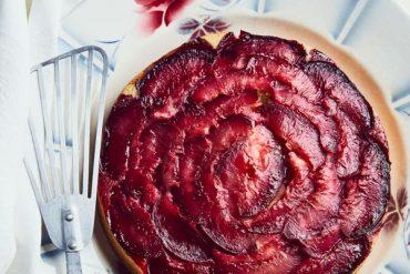 Gâteau aux pêches de vigne et sirop de verveine 19