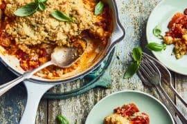 Crumble de tomates cornues au parmesan 2