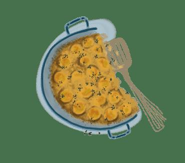 Clafoutis aux mirabelles et au thym 7