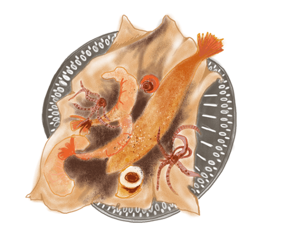 Petite friture de la mer